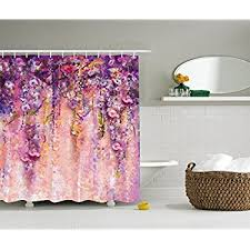 amazon com interestprint wisteria flowers tree home decor purple