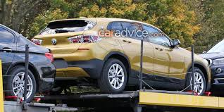 2018 bmw x2 spied with almost no disguise photos 1 of 13