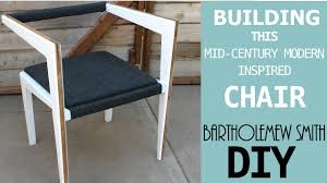 Mid Century Modern Patio Furniture The Linger Chair Diy Mid Century Modern Influenced Chair Youtube