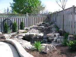 Garden Waterfall Ideas Waterfall Pond Landscaping Ideas Waterfall And Pond Gardenia Tree