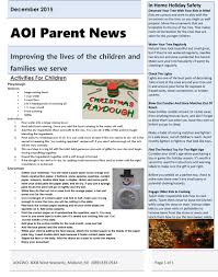 kids in mind december edition aoi parent newsletter adoption option inc