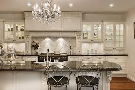 modern victorian kitchen design charming white kitchen island with elegant crystal chandelier for