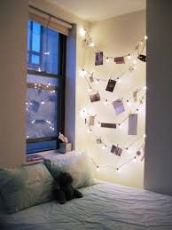 string lights with picture clips 66 inspiring ideas for christmas lights in the bedroom easy wall