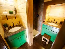 House Plumbing by 8 Tiny House Bathrooms Packed With Style Hgtv U0027s Decorating