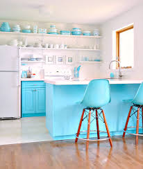 How Hard Is It To Paint Kitchen Cabinets by A Budget Friendly Turquoise Kitchen Makeover Dans Le Lakehouse