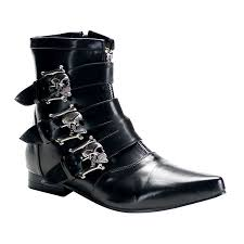clearance motorcycle boots demonia platform demonia brogue 06 gothic punk industrial pikes