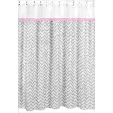 Chevron Bathroom Decor by Decorating Elegant Gray Chevron Curtains For Inspiring Interior