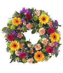 funeral wreaths vibrant wreath tribute funeral wreaths and funeral flowers