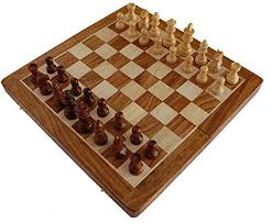 chess set sale 14 x 14 inch magnetic foldable chess set board
