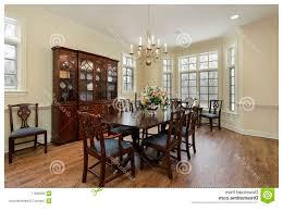 pareti sala da pranzo sala da pranzo con le pareti color crema fotografia stock libera
