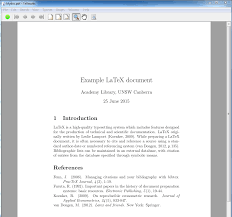 latex project report template latex citations referencing resource guides at unsw canberra note go to example tex and