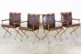 Vintage Wooden Dining Chairs Cleo Baldon Style Vintage Iron And Wood Dining Chairs Vintage