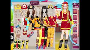 jocuri cu barbie pompier
