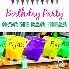 goodie bag ideas 11 clever birthday party goodie bags without all the junk cafemom