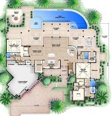 country style house plan 4 beds 5 50 baths 11243 sq ft plan 27 487