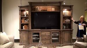 Home Entertainment Furniture 4 Pc Sorella Entertainment Center By Hooker Furniture Home
