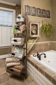 Bathroom Basket Ideas Best 25 Bathroom Wall Baskets Ideas On Pinterest Small Guest