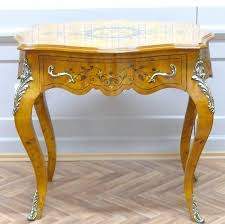 victorian style side table baroque table antique style side table louis pre victorian
