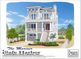 Harbor Home Design Inc Coastal Collection West Creek Nj Safe Harbor Construction Group