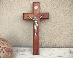 crucifix wall wall crucifix etsy