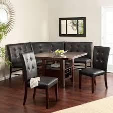 kitchen nook furniture set breakfast nook table set layton espresso 6 breakfast nook