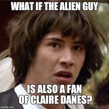 Claire Danes Meme - conspiracy keanu viral memes imgflip