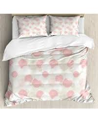 light pink and white bedding spectacular deal on pastel queen size duvet cover set soft toned