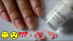 innisfree peel off base coat review youtube