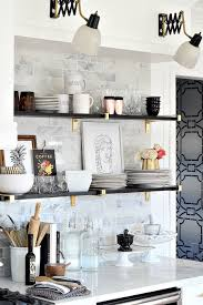 our black gold marble and chic kitchen makeover reveal bliss