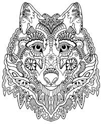 78 free advanced animal coloring pages images