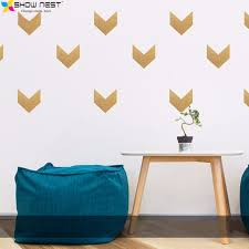 aliexpress com buy gold arrow wall decals vinyl sticker kids