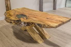 Live Edge Dining Room Tables Toronto - Maple dining room tables