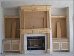 contemporary fireplace mantels surrounds electric