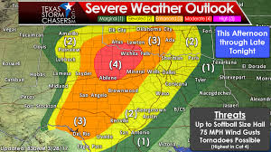 Weather Map Texas More Severe Weather Likely This Afternoon And Tonight U2022 Texas