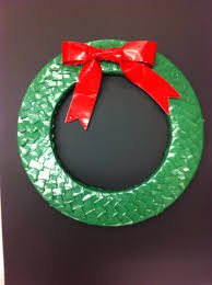 duck tape wreath by activities specialist mariel a c moore