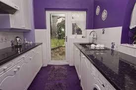deco cuisine violet déco cuisine mauve