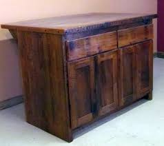 reclaimed barn wood kitchen island with wooden top reclaimed barn wood kitchen island with wooden top