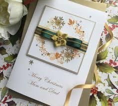 handmade santa christmas cards ne wall