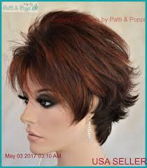 bimbo hairpieces micki lace front monotop wig short wig color envy wigs rooted
