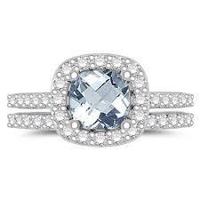 Aquamarine Wedding Rings by Download Aquamarine Wedding Ring Wedding Corners