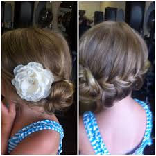 Fancy Hairstyles For Little Girls by Wedding Hairstyles For Little Girls Best Photos Flower Hair
