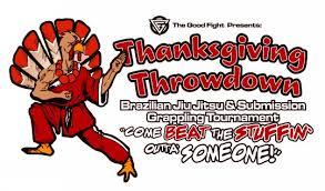 fight thanksgiving throwdown