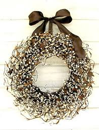 Country Star Home Decor Rustic Wreath Fall Wreath Primitive Country Decor Star Wreath
