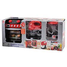amazon kitchen appliances amazon com playgo gourmet kitchen appliances toys games