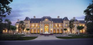 mansion designs stunning chateau design from cg rendering homes of the rich