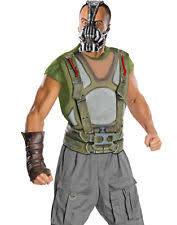Batman Halloween Costume Mens Dark Knight Rises Bane Costume Ebay