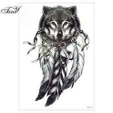 wolf dreamcatcher tattoos pic meaning wolf dreamcatcher