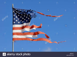 Flag Of The United States Of America Flag Of The United States Of America Worn And Torn By Wind And