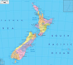 Map Of Oceania Detailed Clear Large Map Of New Zealand Ezilon Maps