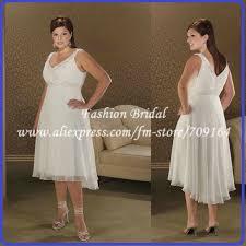twd020 plus size a line pleated chiffon summer wedding dresses
